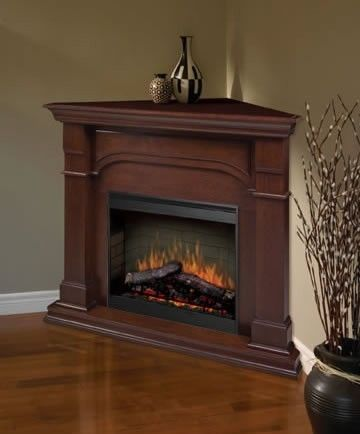 The Dimplex Oxford Corner Electric Fireplace offers a beauty of superior furniture and the glow and warmth of a first-rate fireplace. If limited space is an issue in your home