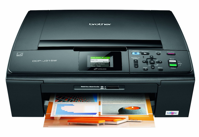 Brother DCP-J315W Driver Free Download | Printer, Cool ...