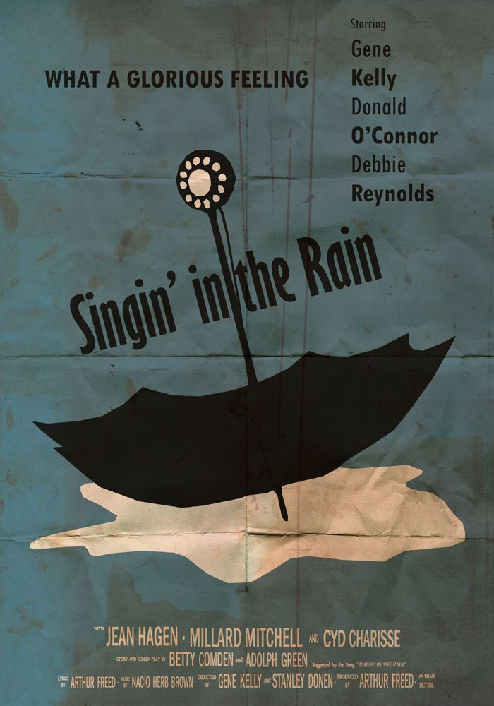 Singin In The Rain 1952 In 2021 Singin In The Rain Singing In The Rain Film Posters Vintage