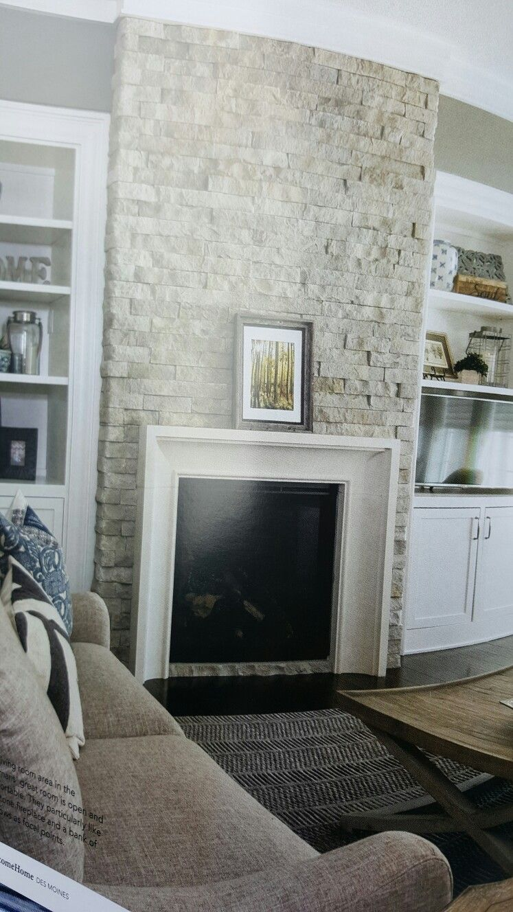 stack stone fireplace. Fireplace Stacked Stone Stack
