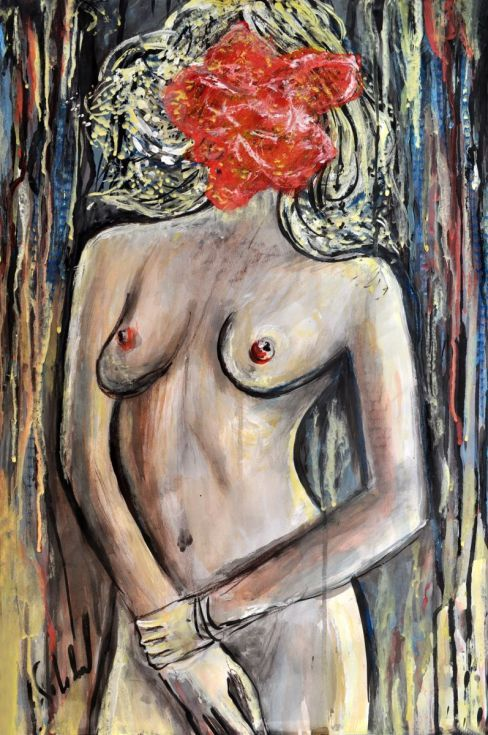 Buy Woman - Rose, Watercolor by Alex Solodov on Artfinder. Discover thousands of other original paintings, prints, sculptures and photography from independent artists.