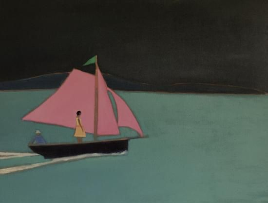 New Painting Out Of Time By Tom Hammick Painting A Level Art Art