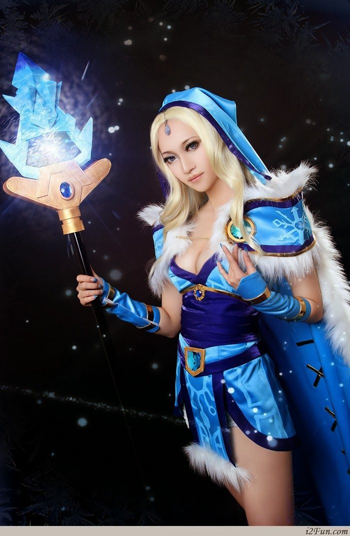 The Best Of Dota 2 Windrunner And Crystal Maiden Cosplay Just4fun