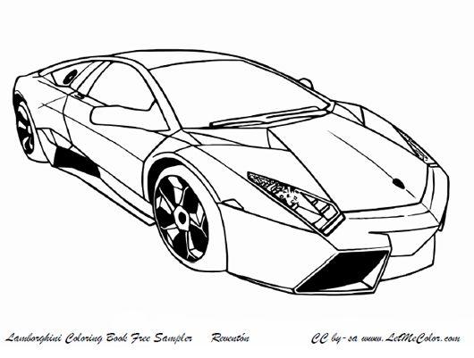lamborghini lamborghini color pages - Lamborghini Veneno Coloring Pages