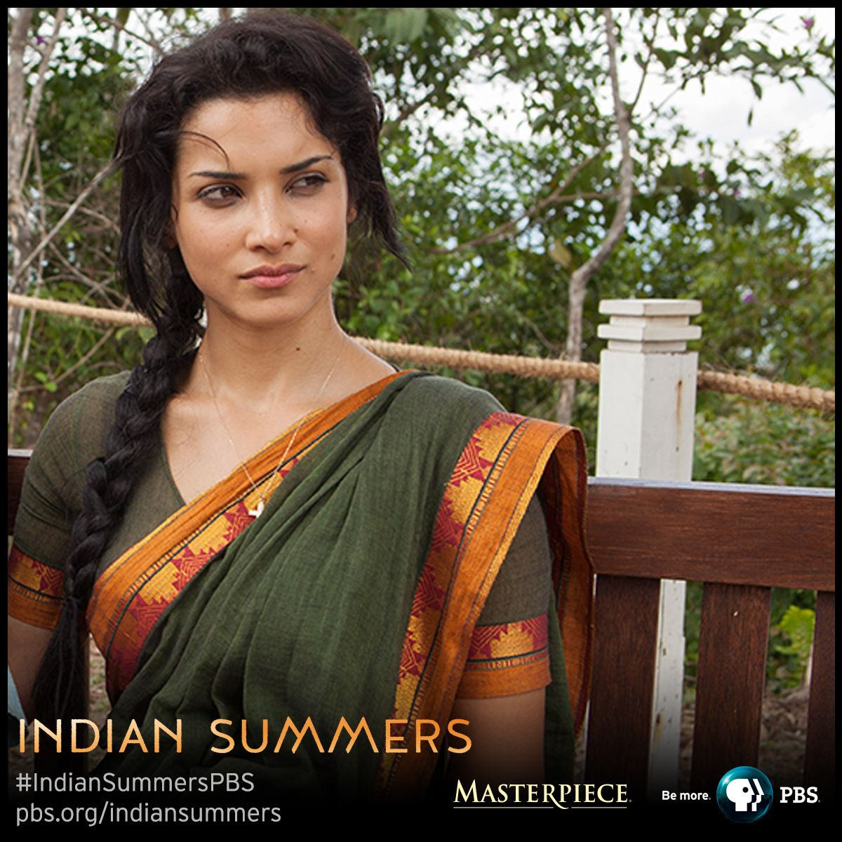 Leena Prasad (amber Rose Revah)  Indian Summers, As Seen On Masterpiece On