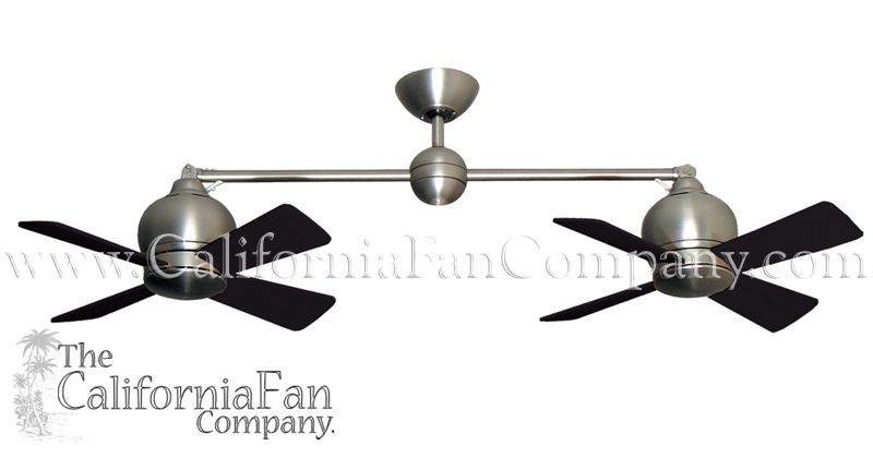 Metropolitan with no light small double ceiling fan california fan metropolitan with no light small double ceiling fan california fan co mozeypictures Choice Image