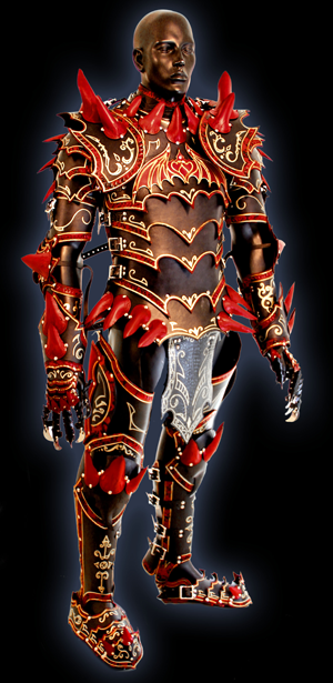 dragon officer armour