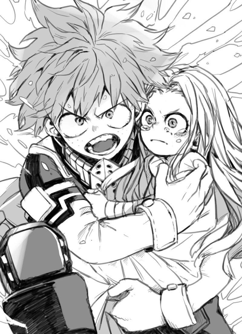 Midoriya Izuku & Eri Hero, My hero academia