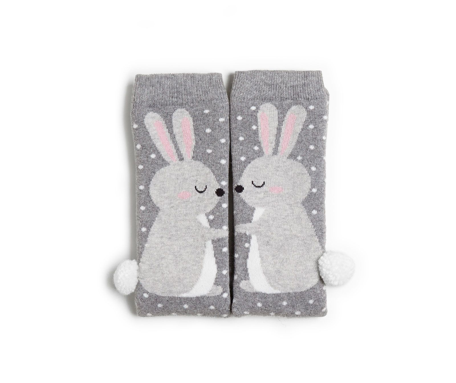 rabbit socks with pompons - Oysho
