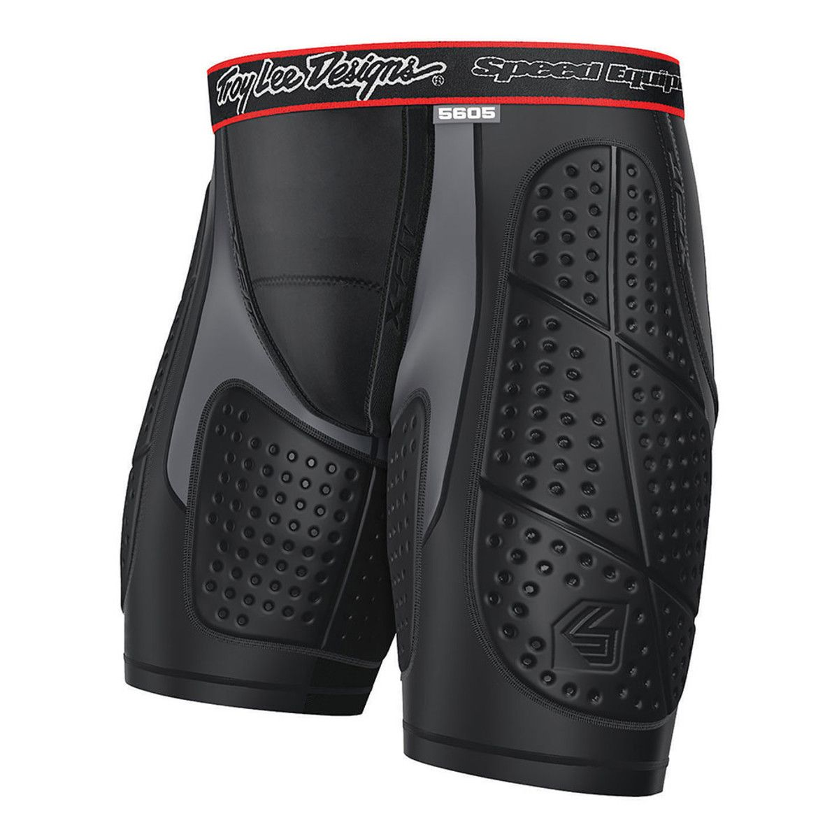 Full Protective Youth Shorts- Black by Troy Lee Designs