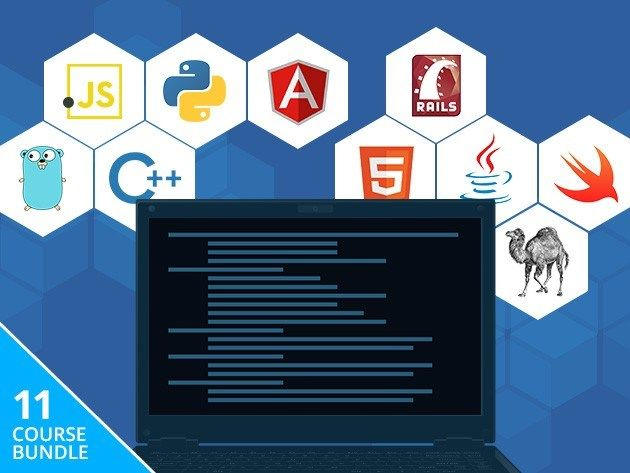 Learn 11 languages from scratch with the Programming 101 Bundle — 83% off