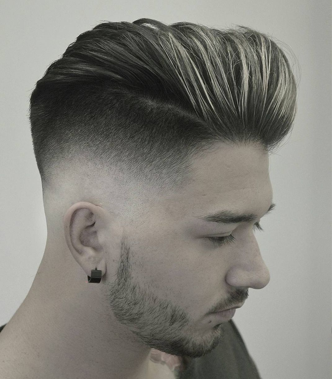 18 medium length pompadour hairstyle for men 2018 | mens hair cut