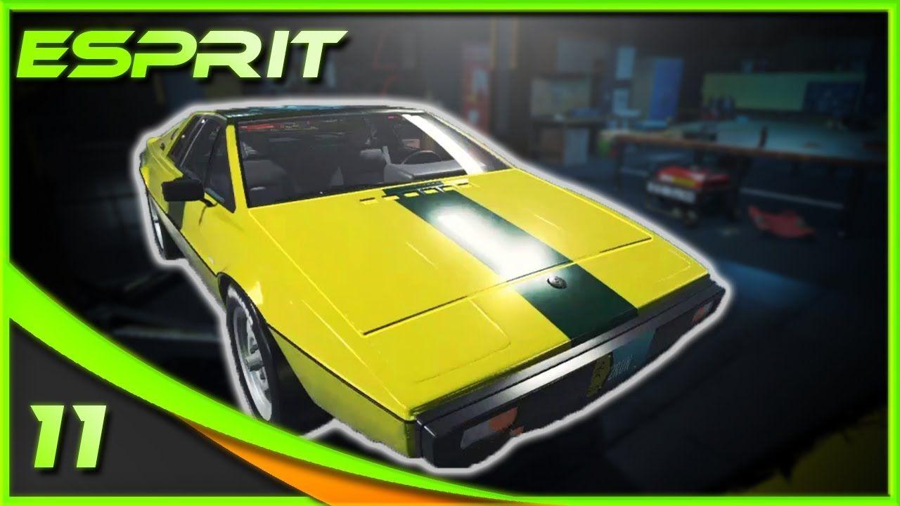 A Sports Car Classic Lotus Esprit Car Mechanic Simulator 2018 Sports Car Car Mechanic Car