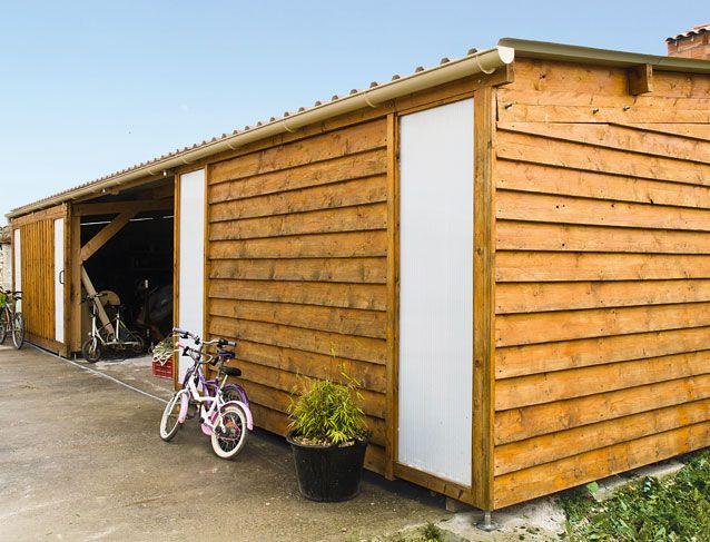 Construire soi-même un atelier à ossature bois Construction