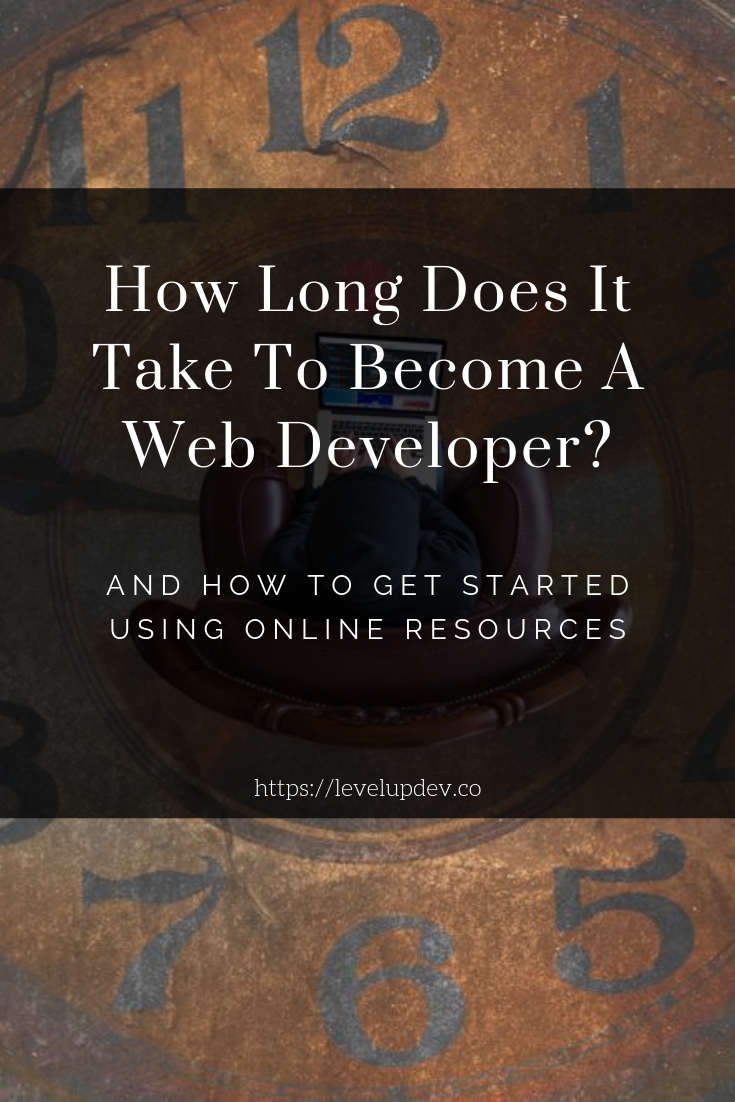 How Long Does it Take To Become A Web Developer? (With ...