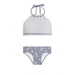 4ae00dae2ea35 Caravan Crochet Halter Bikini | Lu | Bikinis, Designer kids clothes ...