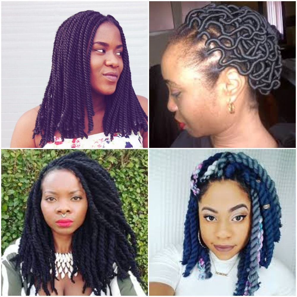 20 Latest Braided Hairstyle With Brazilian Wool Brazilian Wool Hairstyles Cool Braid Hairstyles Latest Braided Hairstyles