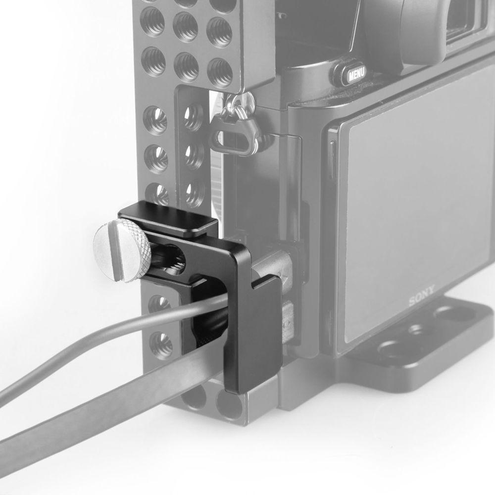 Details zu SmallRig Kamera HDMI-Kabelklemme für SmallRig Sony A6000 ...