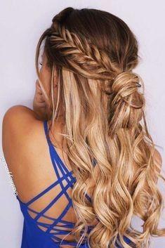 Neue Prom Frisuren Fur Lange Haare Mit Zopfen Und Locken Neue Haare Modelle Hochzeitsfrisuren Lange Haare Frisur Hochgesteckt