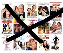 I believe I'm one of the few women in the world who HATES romantic comedies. All of the plots are the same, and people like Kate Hudson & Katherine Heigl annoy me with their insipid petty characters. I just prefer to watch movies that feature romance in realistic ways, even if they aren't always funny or successful