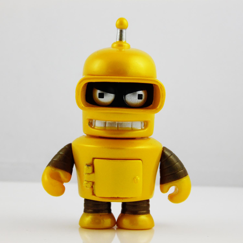 "Kidrobot FUTURAMA UNIVERSE X Mini Series ZAPP 3/"" Vinyl Figure Opened Blind Box"