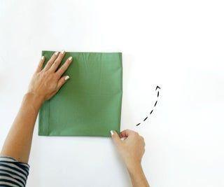 Christmas Tree Napkin Fold #diynapkinfolding Christmas Tree Napkin Fold: 10 Step...,  #Christ... #diynapkinfolding