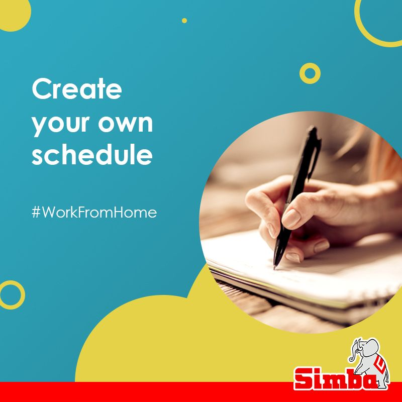 Create Your Own Schedule Working From Home Feeling Overwhelmed Kids