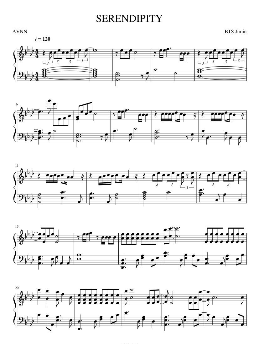 Pin On Piano Sheet Music