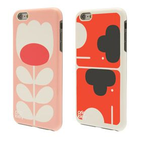 Elephant & Tulip Stem iPhone 6 Case Twin Pack Pink