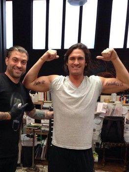 Joe Nichols Shows Off Bible Verse Tattoos Joe Nichols Country