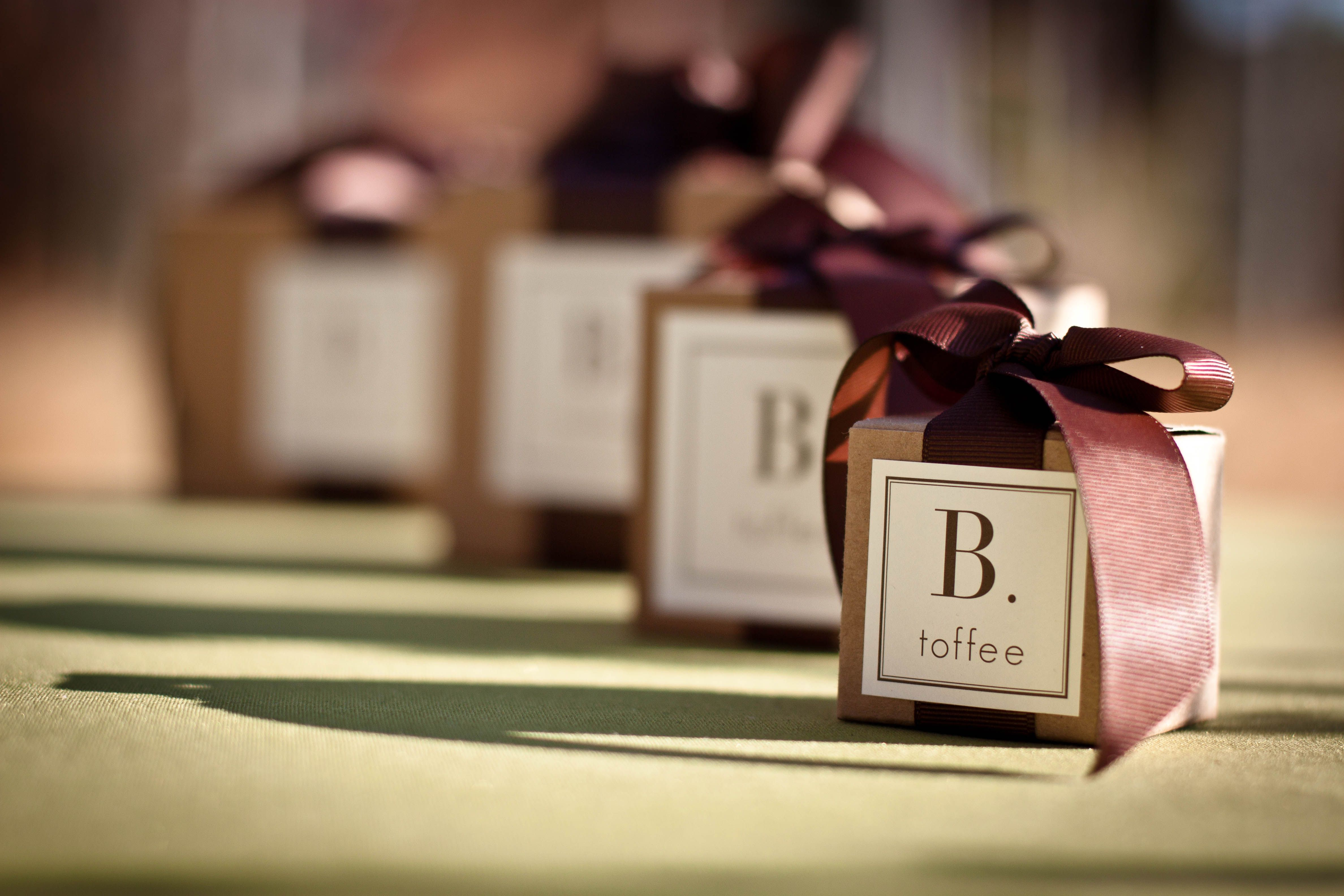 B. toffee: The Perfect Party Favor