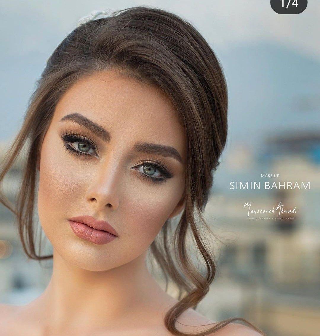 so gorgeous and beautiful 😍😍⚘⚘ | bridal makeup natural