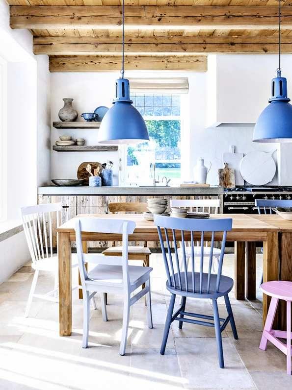 Comment créer un intérieur chaleureux en bleu Häusliches 2