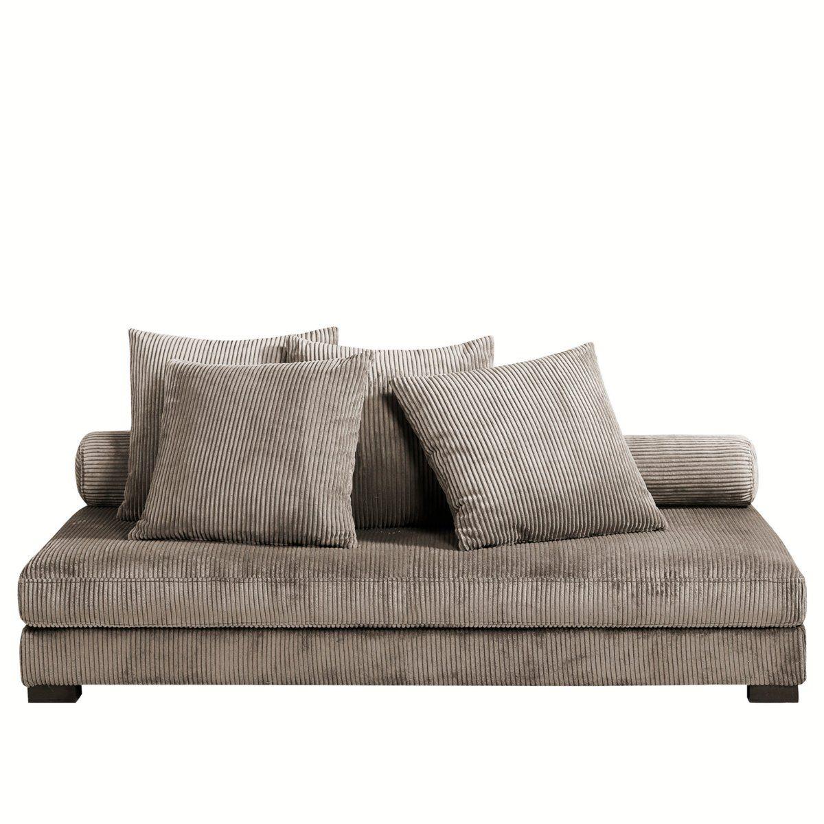 canap lennon velours am pm 699 tables sofas etc. Black Bedroom Furniture Sets. Home Design Ideas