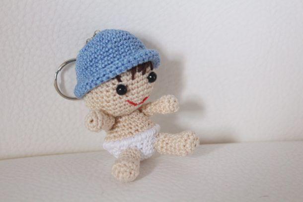 Amigurumi Tutorial Gratis : Neonato con pannolino schema gratis crochet uncinetto amigurumi