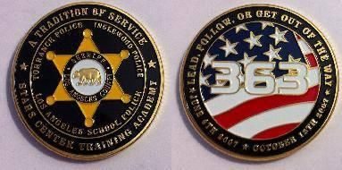 Los Angeles County Sheriff challenge coin | My trade coins