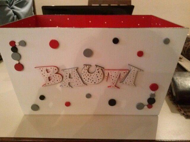 Caja de bebe en fibrofacil cajas decoradas pinterest for Caja almacenaje infantil