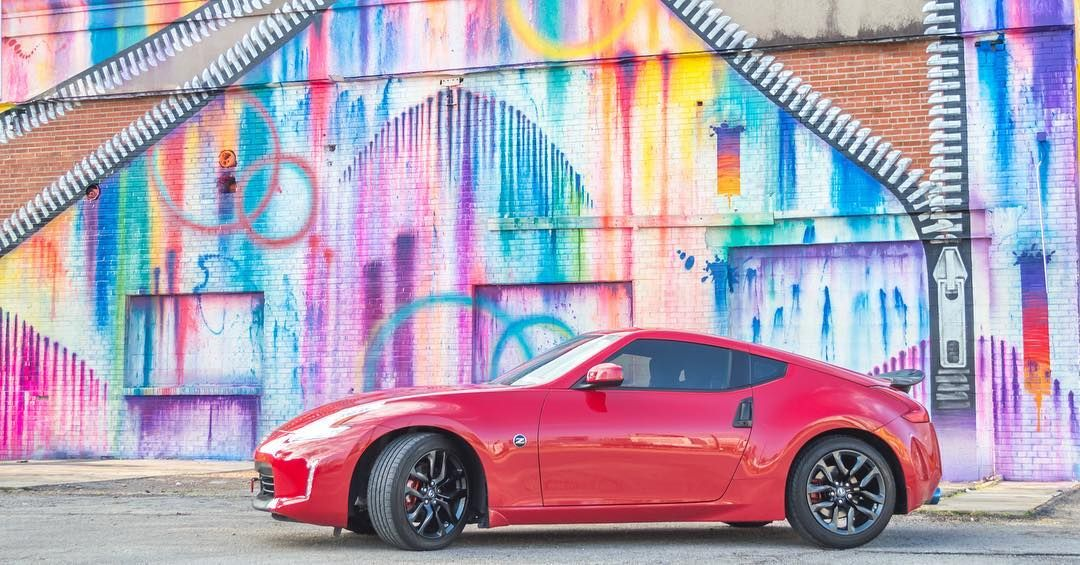 Sutherlin Nissan Orlando >> A pop of color for #TueZdayZ. #Nissan #370Z : @ako37_ | Nissan, Nissan 370z, Clermont