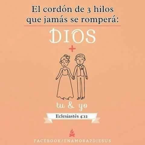 Dios En Tu Matrimonio Matrimonio Dios Frases Cristianas Frases