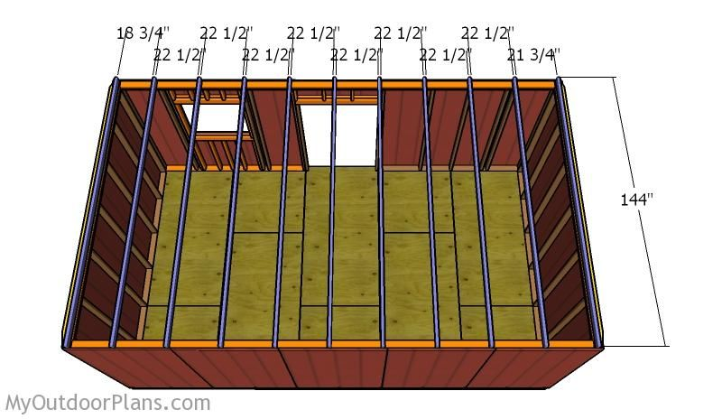 12×20 Shed Roof Plans Diy shed, Roof plan, Shed
