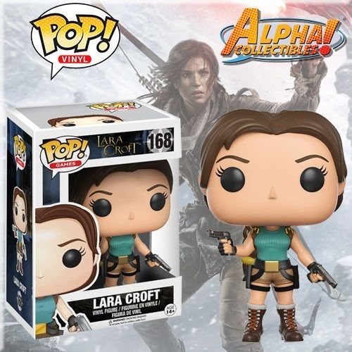 Funko Vinyl Pop 168 Lara Croft Tomb Raider Figure Free S H In Stock Lara Croft Tomb Lara Croft Tomb Raider