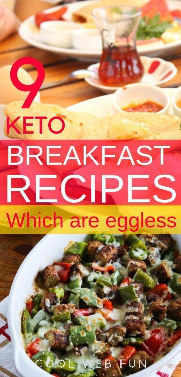 Eggless Keto breakfast ideas: Tired of having eggy keto breakfast recipes? Then this list of keto br...