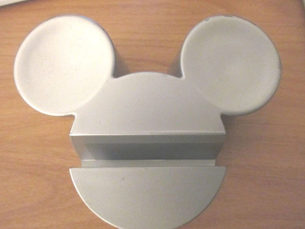 WALT DISNEY MICKEY MOUSE EXECUTIVE COLLECTION BUSINESS CARD HOLDER ...