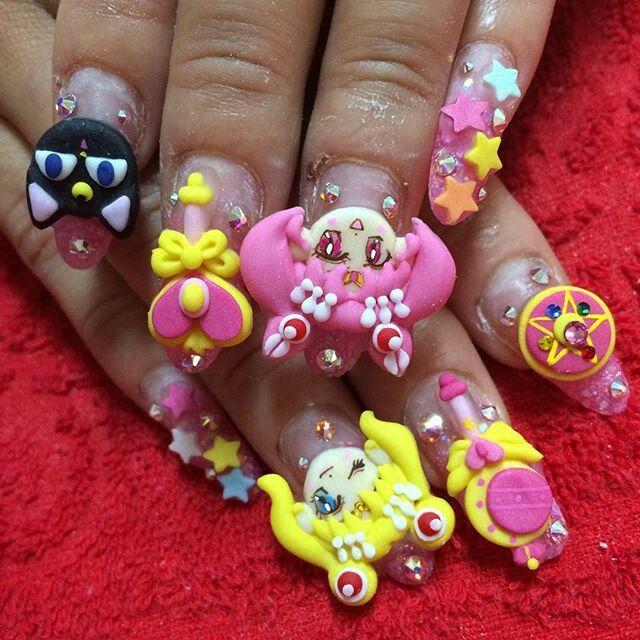 Pin by Sarah Nichols on (>‿◠)Kawaii Nails(^◡^ )   Pinterest ...