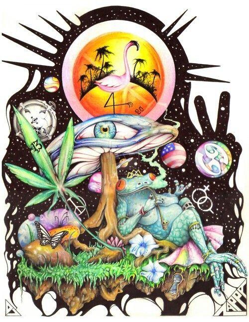 Resultado de imagen de Dibujos trippy Arte hippie y Imagenes psicodelicas