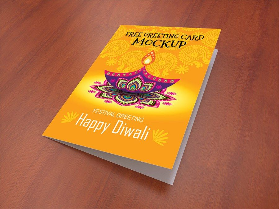 42 Best Greeting Card Mockup And Invitation Card Mockup Psd Designs Birthday Card Template Greeting Card Template Psd Template Free