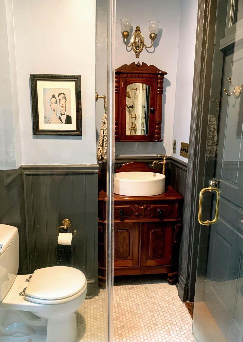 16 Row House Interior Design Ideas: A Historic Row House Has A Colorful Exterior And Charming Interior