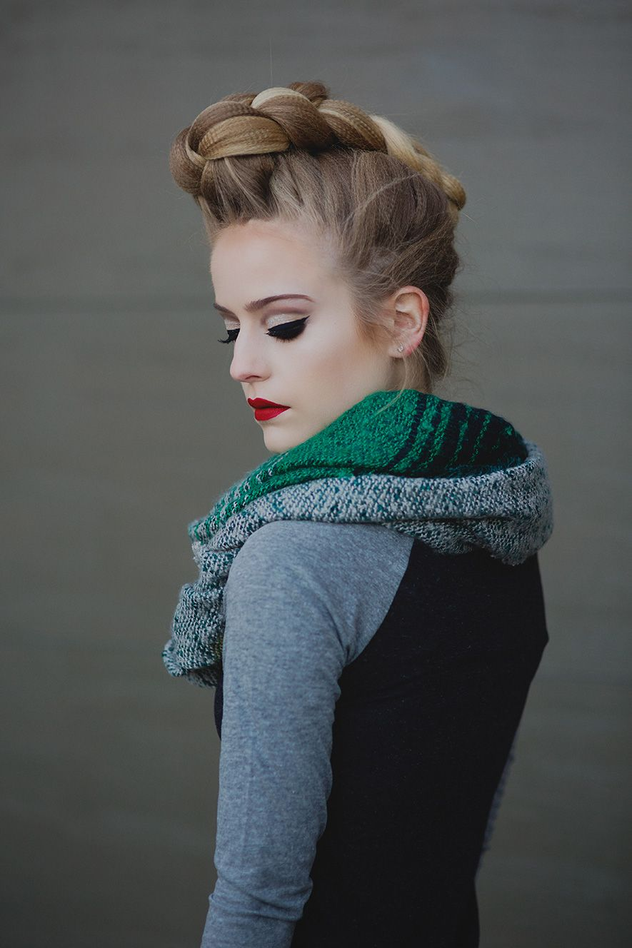 French braided pompadour hairstyle tutorial pompadour hairstyle