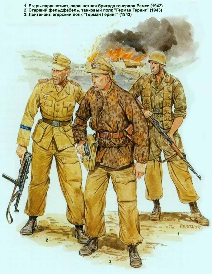 Немецкая армия во 2-й мировой войне - Африканский корпус ...