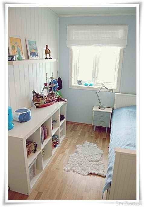 Boys room ideas  + Expedit for storage